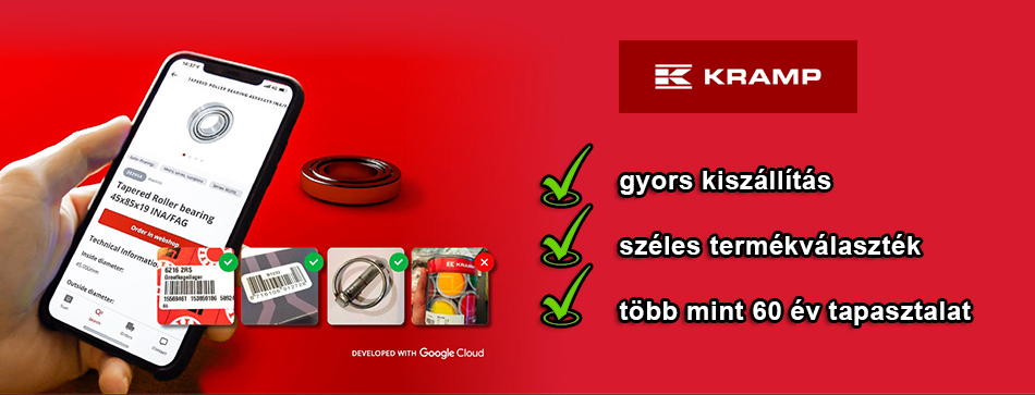 kramp app scanning parts West Farmer gyor
